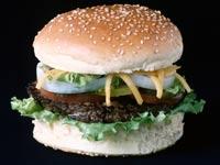 המבורגר אוכל מהיר  / צלם:  thinkstock